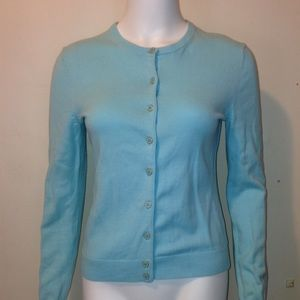 Aqua small Lilly Pulitzer cardigan sweater